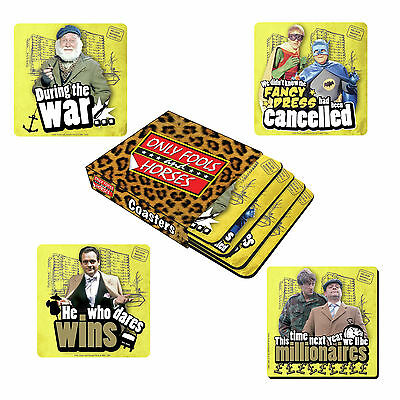 Only Fools And Horses Bbc Coffee Mug Cup Coasters Set Of 4 New With Packaging
