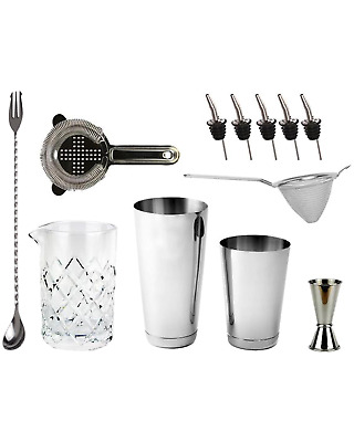 Cocktail Kit Bartenders Bar Kit - Toby Tin Bar Accessories