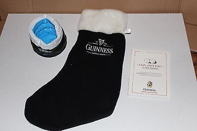 Guinness - Christmas Stocking/collectable items - perfect condition!!
