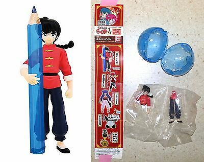 Ranma 1/2 on the Desk Ranma Saotome Figure Bandai Rumiko Takahashi Licensed NW