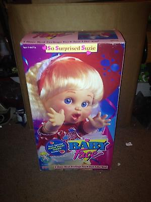 Vintage 1990 Galoob Toys - Baby Face Doll (So Surprised Suzie)    Nib