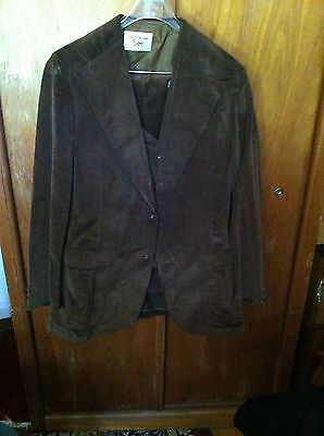 vintage LEE men's Suit 42l Jacket 32/32 Pants Very Cool
