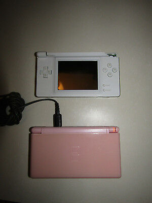 Lot of Nintendo DS Lite Parts + Charger + Case + Pokemon X + Other