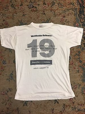 Depeche Mode Violator March 19 Worldwide Promo T-Shirt 1990