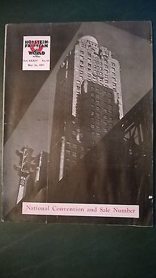 Holstein World 1937 National Convention Issue + National Production Champions