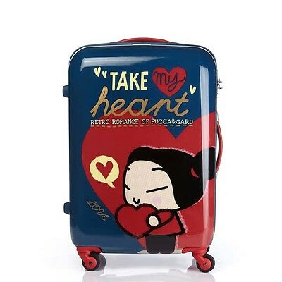 Samsonite RED PUCCA HEART NAVY (R8141002) Travel Luggage*24 inch *Worldwide S/H