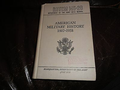 Rotcm 145-20 Department Of The Army Rotc Manual American History Fort Benjamin