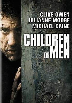 Children of Men (DVD, 2007, Widescreen) Clive Owen, Michael Caine