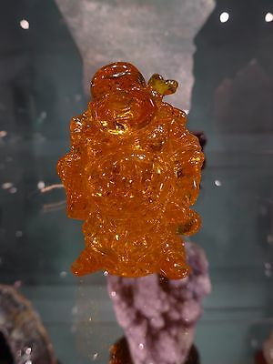 Amber Budda - Great Features - Beautiful Inclusions And Vibrant Color