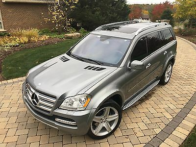 2012 Mercedes-Benz GL-Class 550 uper Clean, No Accidents, Loaded, $92k MSRP, was Certified by Mercedes, DVD...