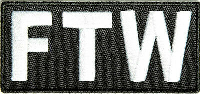 FTW - Forever Two Wheels PATCH
