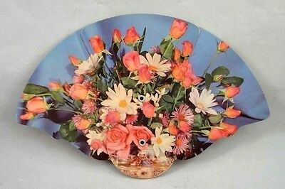 antique ADVERTISING HAND FAN ~CHRISTMAN'S FUNERAL HOME lebanon pa