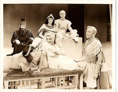 "g508. RARE Orig 1947 Broadway Photo Katharine Cornell in ""Antony and Cleopatra"""