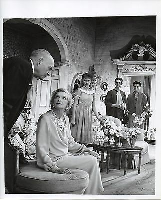 "g719. RARE Original Oct 1955 Broadway ""The Chalk Garden"" Photo by Cecil Beaton"