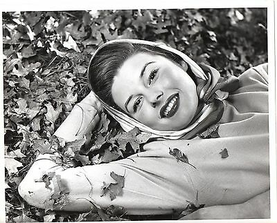 g792. RARE Original 1950's Photo Sexy Young Elaine Stewart Actress Film & Stage