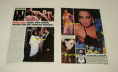 Diana Ross and Mary Wilson  magazine clippings (Must see!  Super Sexy!!)