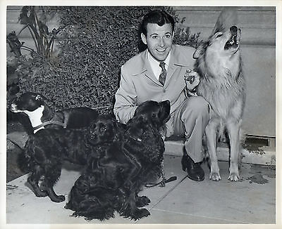 """1872. Orig Nov 1946 NBC-TV Press Photo """"A Day in the Life of Dennis Day"""""""