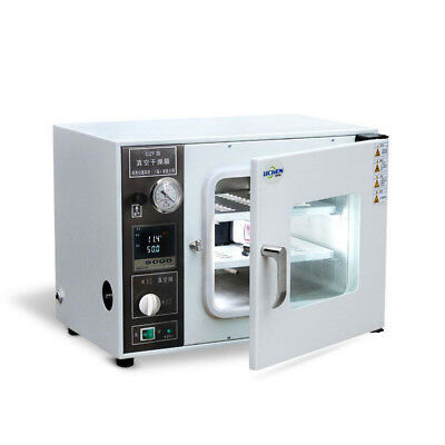 220V Vacuum Drying Oven Box Can Set Temperature Time Drying Box Oven DZF-6020A