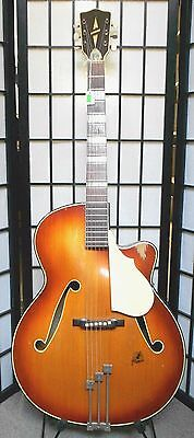 Framus Archtop Hollowbody Acoustic Guitar. Made in West Germany 5/68 cutaway