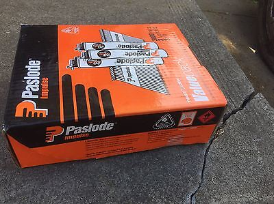 New Paslode Framing Nails, 3000 Per Box With 3 Gas Cylinders