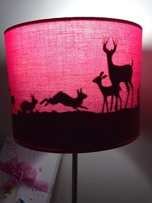 Silhouette Nursery Lamp Shade For Baby / Toddler