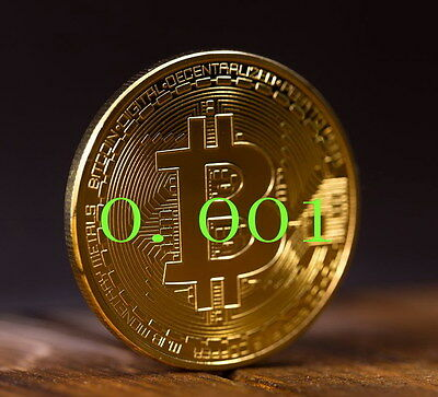 Bitcoin 0.001 BTC  direct  to your wallet gift btc