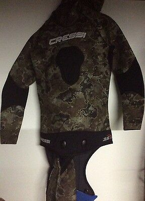 Cressi Technica 2 Piece Wetsuit Size Small