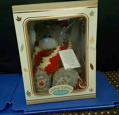 Boxed Limited Edition - Me To You Tatty Teddy  Bear - Autumn