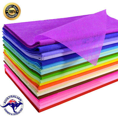 Tissue Paper Ream 500 SHEETS VARIOUS COLORS 510mmx760mm 21gsm- High Grade