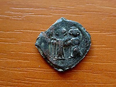 Constans II 641-668 AD AE Follis Constantinople Ancient Byzantine Coin