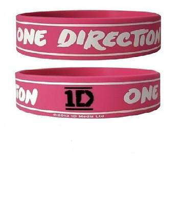 *NEW* One Direction (Logo Stripe) Silicon / Rubber Wristband BY PYRAMID
