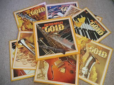readers digest LP 8 Records boxed set .Instruments in Gold