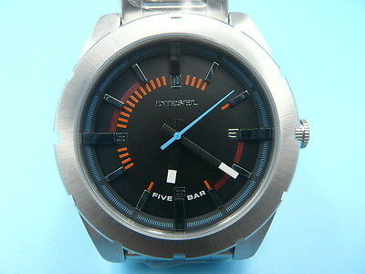New Old Stock DIESEL 44mm Stainless Steel Quartz Men Watch