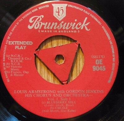 Louis Armstrong With Gordon Jenkins, His Chorus And Orchestra - Vol. 1 - OE 9045