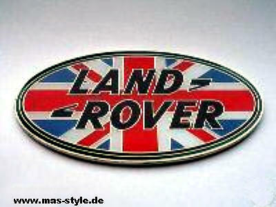 Land Rover Badge Union Jack Defender Freelander 2