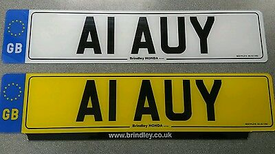 A1 AUY Cherished Number plate