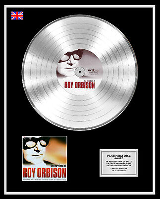 ROY ORBISON Ltd Edition CD Platinum Disc Record THE VERY BEST OF