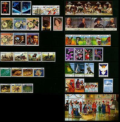 Australia & AAT MNH MUH Collection of Stamps - 1986 Year Collection