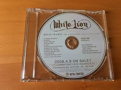 Japan Cd White Lion Return Of The Pride Kicp-1268 Promo Only