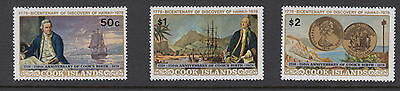 COOK ISLANDS :1978 Anniversary of Cook's Birth set SG613-5 MNH