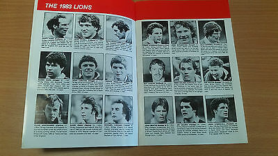 The Lions Rugby Almanac 1983