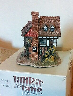 Lilliput Lane The Swan Inn Boxed with Deeds