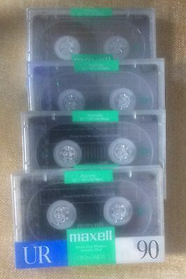 Maxwell UR90 Audio Tapes - New And Sealed