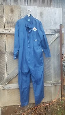 NOS Kermel mechanic coveralls with Amoco patch Size Large
