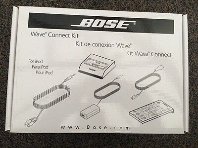 Bose Wave Connect Kit New Boxed And Sealed For iPod