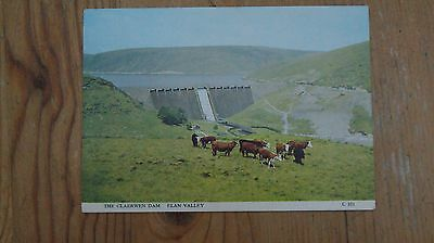 The Claerwen Dam, Elan Vlalley Postcard