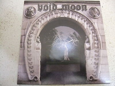 """void moon-through the getaway 7"""" blue lp limited edition metal bound recs 2010"""