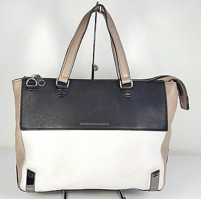 msrp  498 MARC by Marc Jacobs Shelter Island Colorblock Leather Satchel Bag 54bcd82700c6c