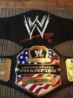 WWE United States Championship Adult Metal Replica