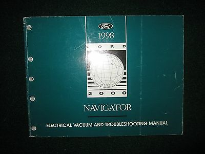 1998 Lincoln Navigator Electrical Wiring Diagram Manual DEALER